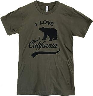 The Bold Banana Men's I Love California T-Shirt