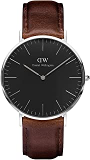 Daniel Wellington Men's  Watch Classic Black Bristol  40mm