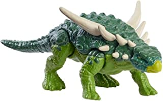Jurassic World Toys Fierce Force Sauropelta Dinosaur Action Figure with Movable Joints, Realistic Sculpting & Single Strik...