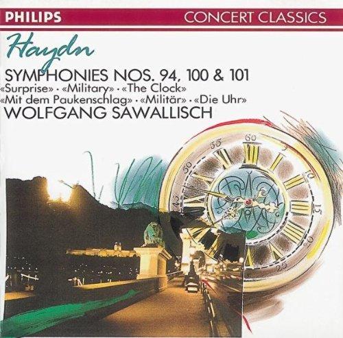 Haydn-Sawallisch-Symphonies N 94/100 et 101
