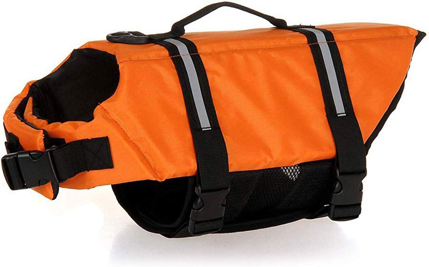 Over item handling GabeFish Dog Life Jacket Vest Collar Clothes Save Factory outlet Harness Safety