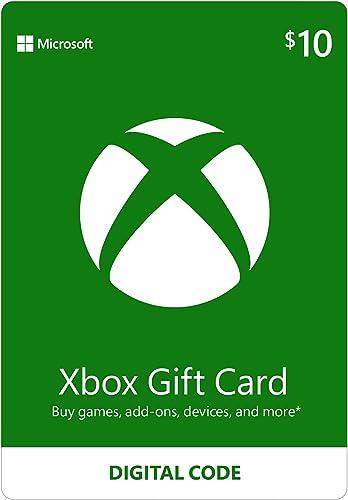 $10 Xbox Gift Card [Digital Code]