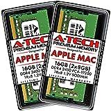 A-Tech 16GB (2x8GB) RAM for 2017 iMac 27 inch Retina 5K, 21.5 inch Retina 4K | DDR4 2400MHz PC4-19200 SO-DIMM 260-Pin CL17 1.2V Non-ECC Unbuffered Memory Upgrade Kit