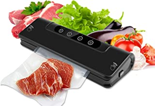 Vacuum Sealer,Food Sealer Machine for Food Saver and Preservation with Dry&Moist Modes for One-button vacuum sealing machine is easy to use