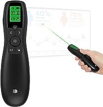 Pointeur Laser Vert, doosl 2.4 GHz Mini Multimédia à distance avec Telecommande Powerpoint pour PPT/Keynote/Prezi/OpenOffi...