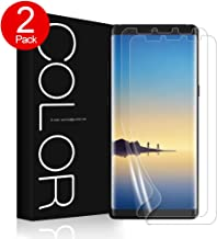 Galaxy Note 8 Screen Protector, G-Color Wet Applied Case Friendly Bubble Free TPU Screen Protector for Galaxy Note8 (2-Pack)