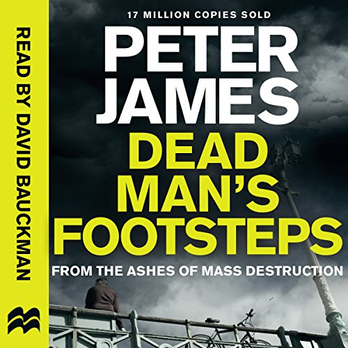 Dead Man's Footsteps audiobook cover art