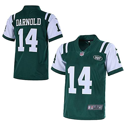 97a7fa413 Outerstuff Youth New York Jets  14 Sam Darnold 2018 NFL Game Jersey for  Kids–