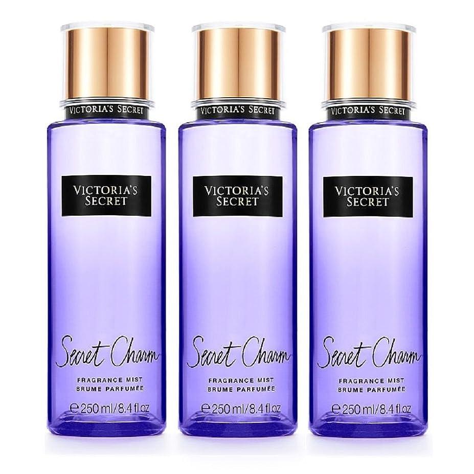 アライアンス計算ボールフレグランスミスト 3本セットSecretCharm Victoria'sSecret Fantasies FragranceMist ヴィクトリアズシークレッ (937.シークレットチャーム/SecretCharm) [並行輸入品]