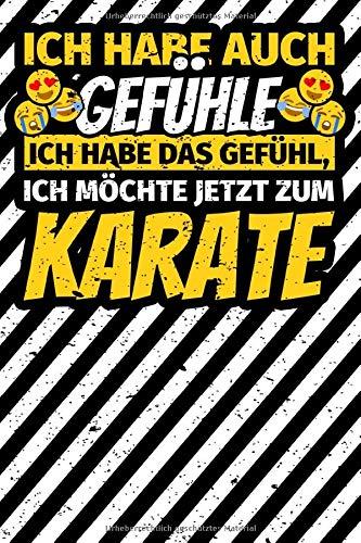 Notizbuch liniert: Karatekämpfer Geschenke Karate  Karatesport lustig
