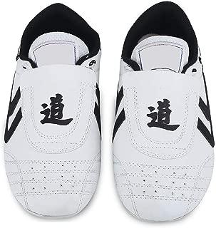 Dilwe Taekwondo Shoes, 10 Sizes Soft Rubber Soles Martial Arts Sneaker for Women Men Kong Fu Taichi