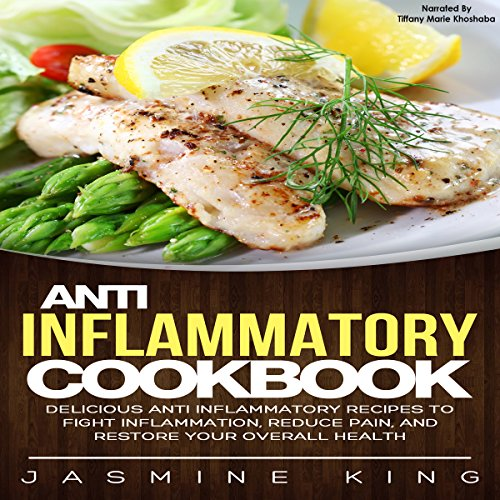 Anti Inflammatory Cookbook audiobook cover art