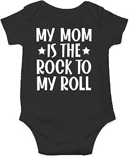Rock n/' Roll Graphic Baby Onesie Bodysuit Baby Rock Graphic Bodysuit Gender Neutral