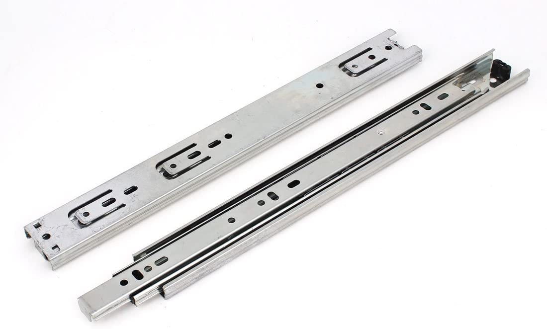Aexit 2PCS Side Cabinet Hardware Mounted 3 Albuquerque Mall Sections Drawer Tulsa Mall Slide
