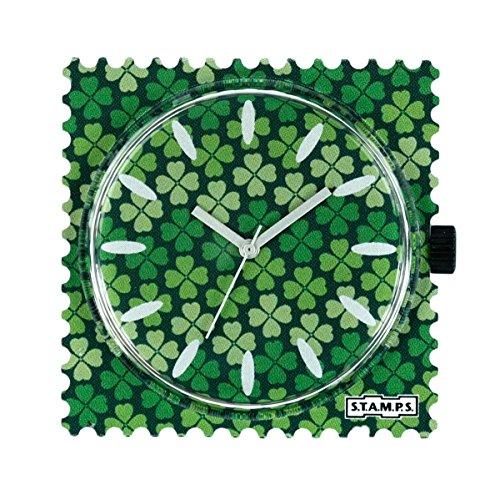 S.T.A.M.P.S. Stamps klok wijzerplaat st. Patrick104827