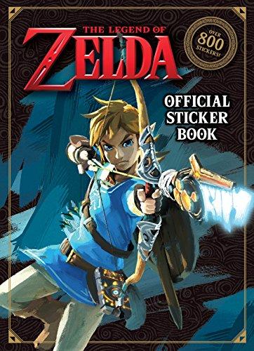 The Legend of Zelda Official Sticker Book (Nintendo) (Sticker Books)