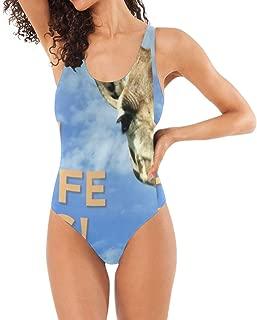 Womens Swimsuits Summer Slippers One Piece Bathing Suits Girls Bikini