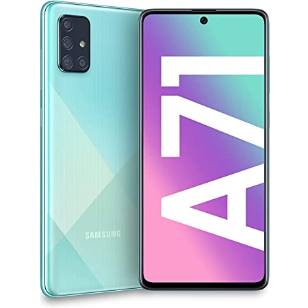 Samsung Galaxy A71 A715F 128GB Dual-SIM GSM Unlocked Phone (International Variant/US Compatible LTE) - Prism Crush Blue