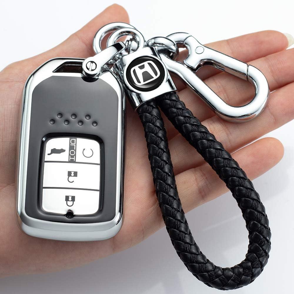 Longzheyu for Nashville-Davidson Mall Recommendation Honda Key Fob Cover Case Special Prot Soft TPU