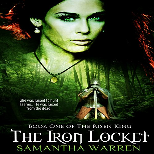 The Iron Locket audiobook cover art