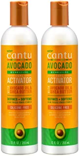 Cantu Avocado Curl Activator 12 Ounce (355ml) (Pack of 2)