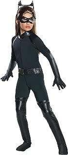 Rubie's Girl's Batman Dark Knight Rises Deluxe Catwoman Costume, X-Small