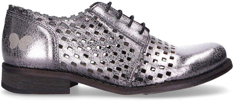 Felmini Luxury Fashion Damen B655Silber Silber Schnürschuhe    Frühling Sommer 19  ganz billig