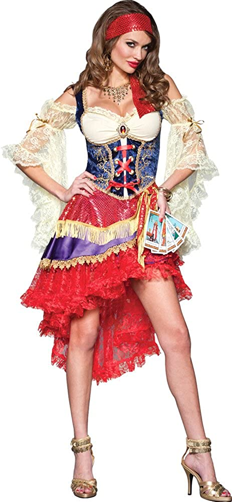 InCharacter Women's Good Sales of SALE items from new supreme works Fortune X-Small Costume Gypsy