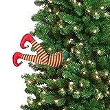 Mr. Christmas Animated Elf Kicking Legs