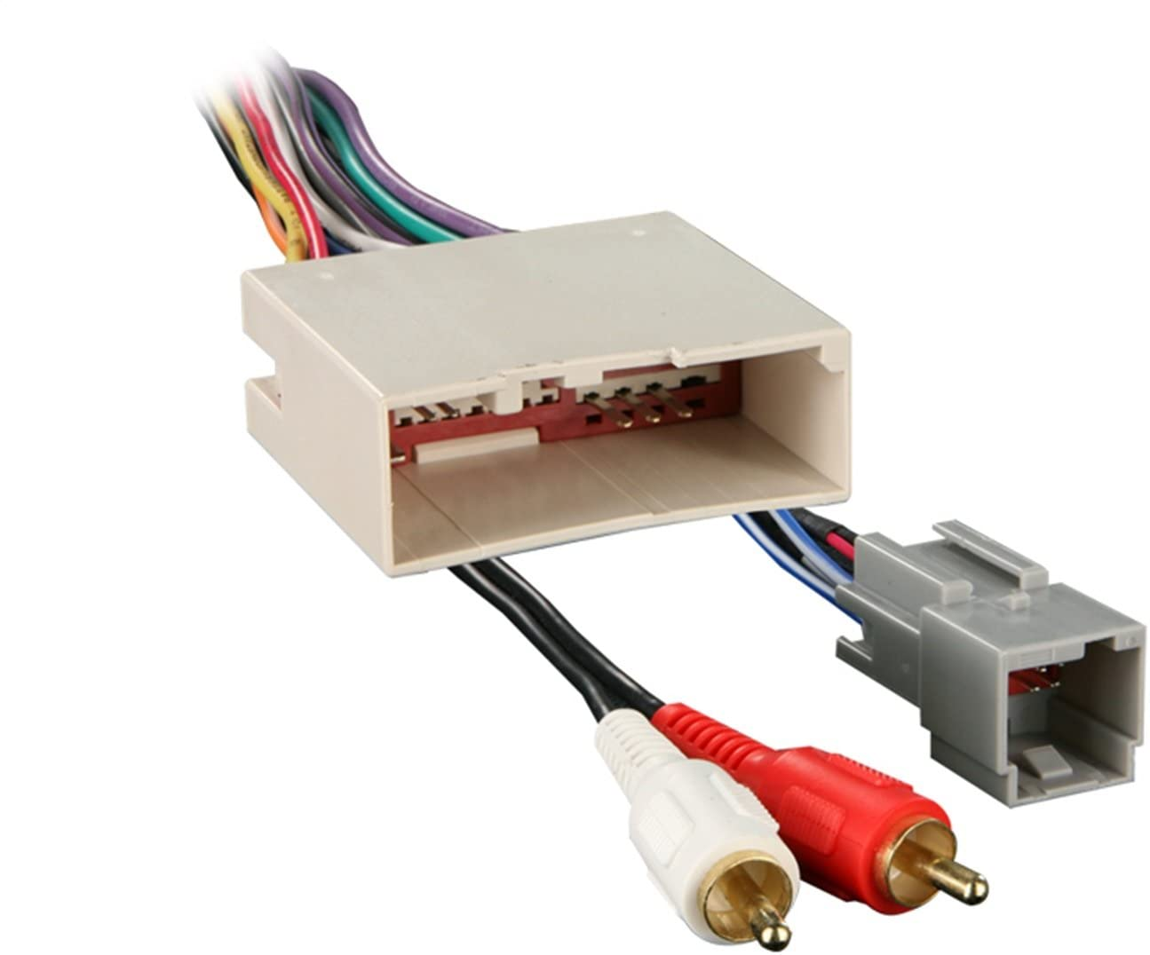 amazon.com: metra 70-5521 radio wiring harness for ford 03-up amp: car  electronics  amazon.com
