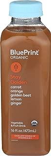 Blueprint Juice, Juice Carrot Golden Beet Orange Ginger Lemon Organic, 16 Fl Oz