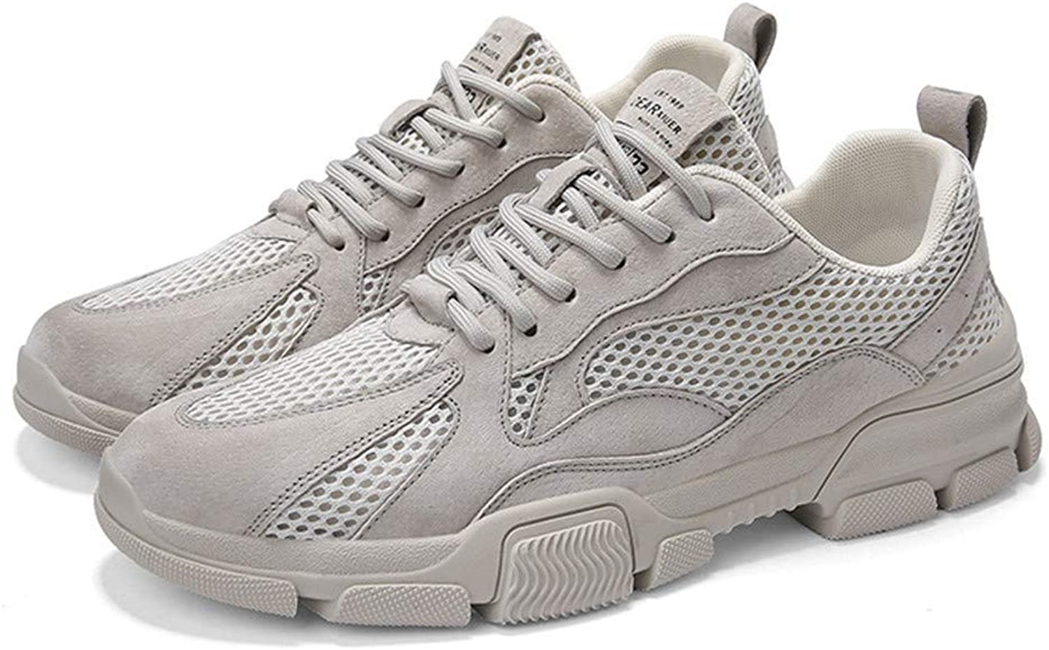 JLCP Mens Casual Athletic Sneakers, Mesh Trainers Walking shoes Breathable Lightweight Non-slip Gym travel Running Outdoor Sports shoes,1,41