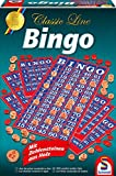 Schmidt Spiele 49089 Classic Line, Bingo, mit Zahlensteinen aus Holz, bunt
