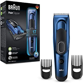 Braun HC5030, Tagliacapelli Uomo E RegolabarbaCon 17 Impostazioni Di Lunghezza