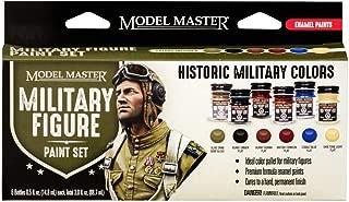 Testors 342302 Model Master Theme Paint Set 6/Pkg-Military Figure Colors