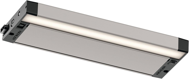 Kichler 6UCSK12NIT LED Under Textured 好評 Cabinet Nickel 限定特価