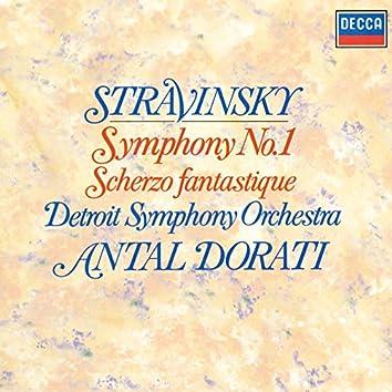 Stravinsky: Symphony No. 1; Scherzo fantastique