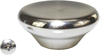 Large Stainless Steel Replacement Knob Fits Le Creuset Pot Pan Oven Lids + Screw