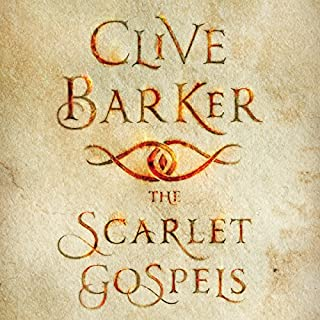 The Scarlet Gospels audiobook cover art