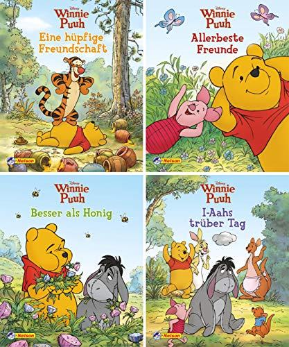 Nelson Mini-Bücher: 4er Disney Winnie Puuh 5-8