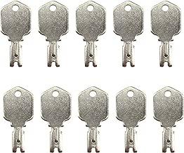 1430 Ignition Key ForkLift Key for Clark Yale Hyster Komatsu Mustang Gradall Gehl Daewoo 10 pcs