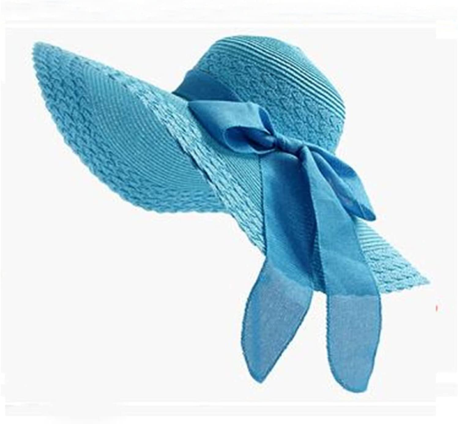 CHENGCHAO Sun hat trust New Korea Style Hats Complete Free Shipping Summer Soli Women Bow Big