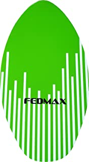 Fedmax Skimboard with High Gloss Coat | Choose Size/Color | Wood Skim Board for Kids/Adults.