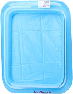Fmingdou Inflatable Sand Tray Castle Sand Table Children Kids Indoor Play Sand Mud Toy (Blue)