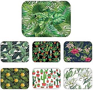 40x60cm Cactus Pineapple Plant Printed Anti-Slip Floor Mat Outdoor Rugs Animal Front Door Mats Kitchen Mat for Living Room