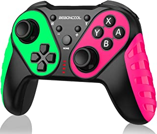 Wireless Pro Controller Replace for Nintendo Switch Controller, Switch Controller Compatible with Switch/Switch Lite, Extr...