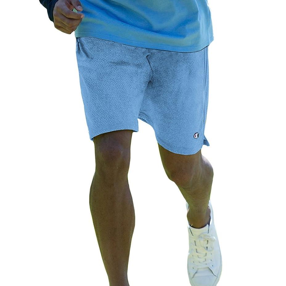 回復戻る見分けるChampion Long Mesh Men's Shorts with Pockets_Swiss Blue_2XL
