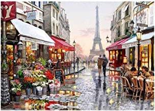 5D Resin Diamond Paris France Scenery Embroidery Painting DIY Kit