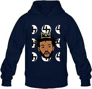 TMILLER Men's Joey Badass Progressive Era NYC Logo Hoodied Sweatshirt