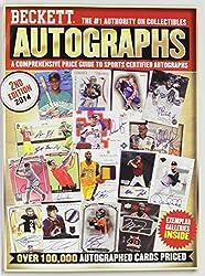 Celebrity Autographs Price Guide